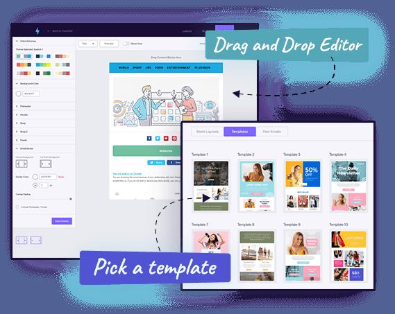 mailzapp pick a template